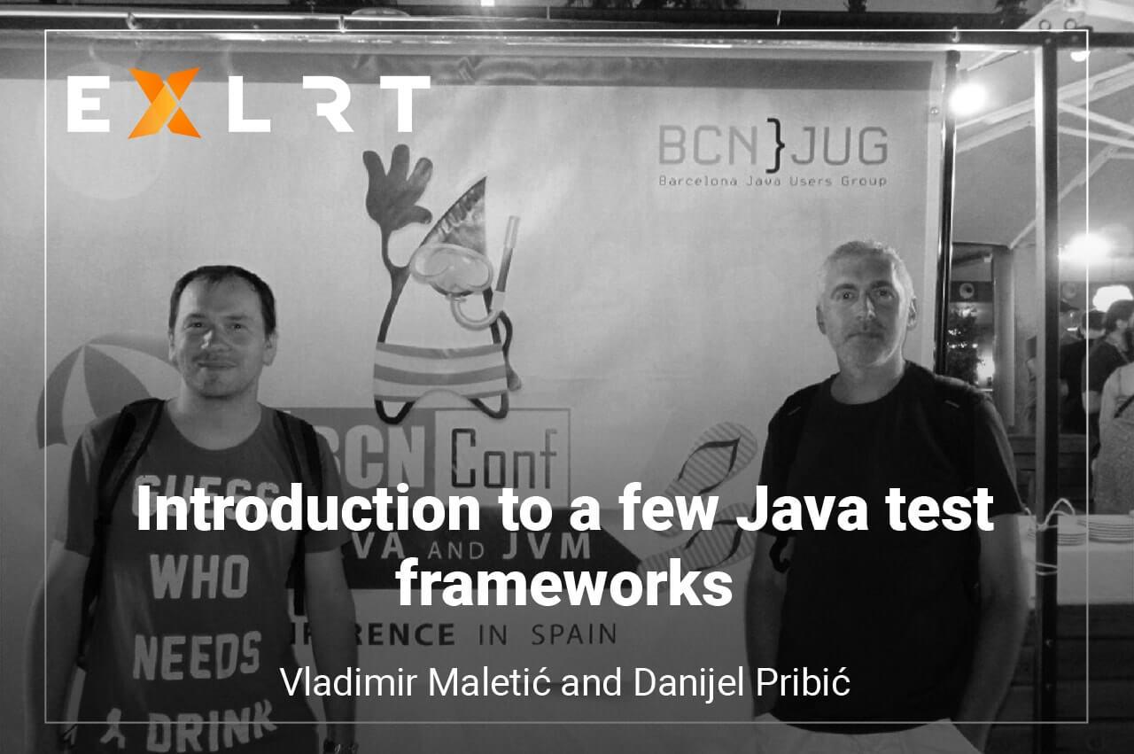 Introduction to a few Java test frameworks