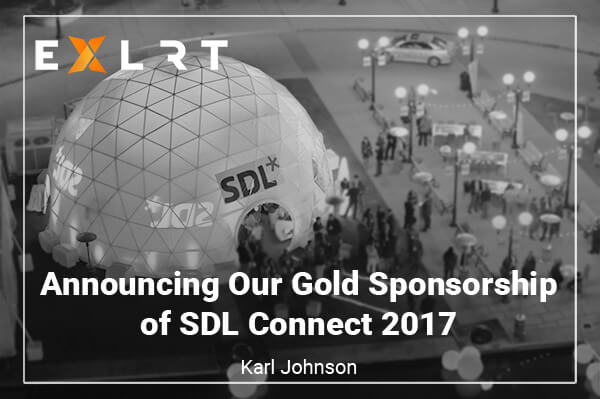 Announcing Our Gold Sponsorship of SDL Connect 2017