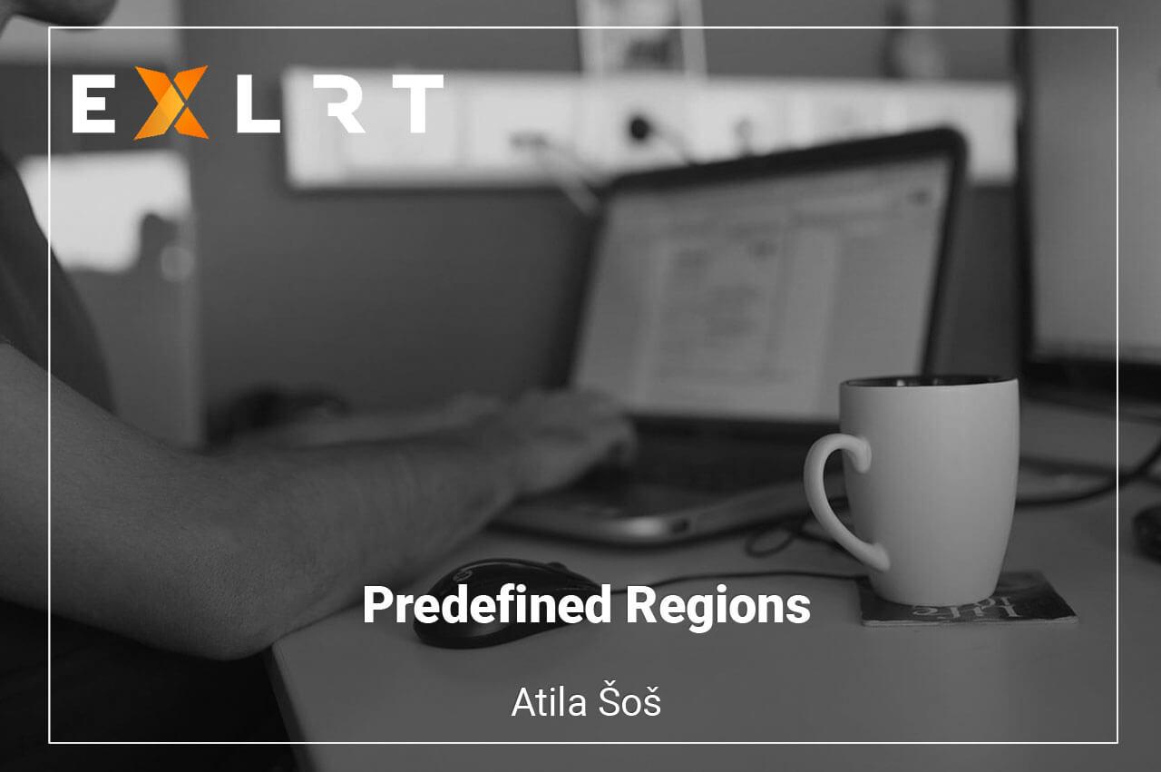 Predefined Regions