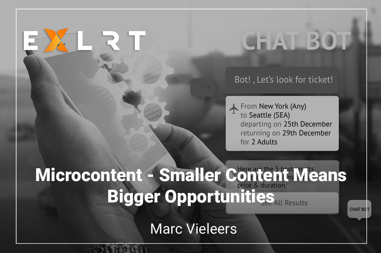 Microcontent – Smaller Content Means Bigger Opportunities