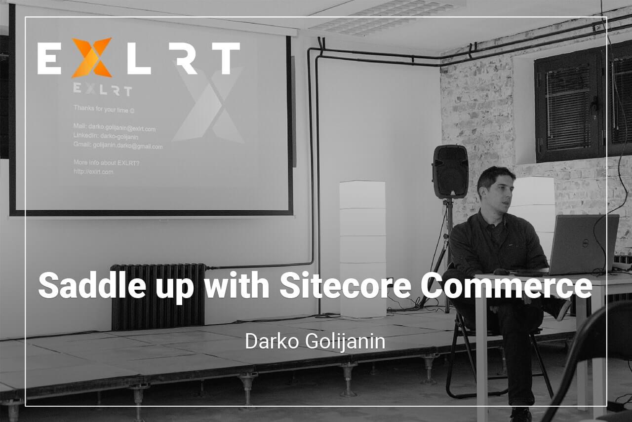 Saddle up with Sitecore Commerce